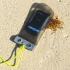 Funda estanca y sumergible para electronica - pequeña - movil, pda & gps - en la playa