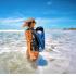 azul | 28 Litros | Mochila | 100% estanca | TrailProof | en el agua | (c) Alberto Maiorano Photography