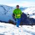 Lima   Riñonera   TrailProof   en la nieve