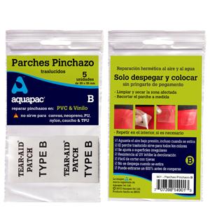 Enlace a Parches Pinchazo para pvc y vinilo