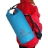 Azul | 25 Litros | Bolsa Seca | Petate | con Cincha | 100% estanco | TrailProof