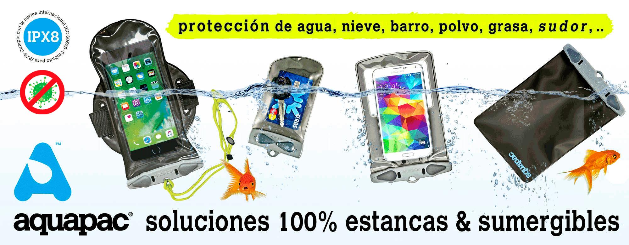 IPX8 Soluciones 100% estancas